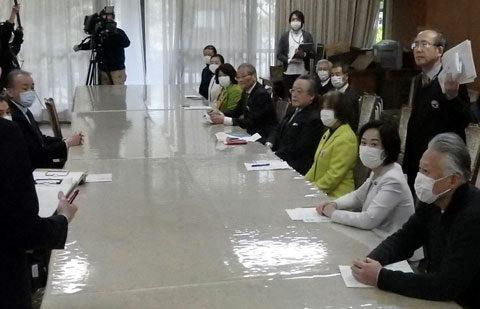 カジノの是非を求める横浜市民の会が市長に「IR誘致事業の即時停止」を申し入れ